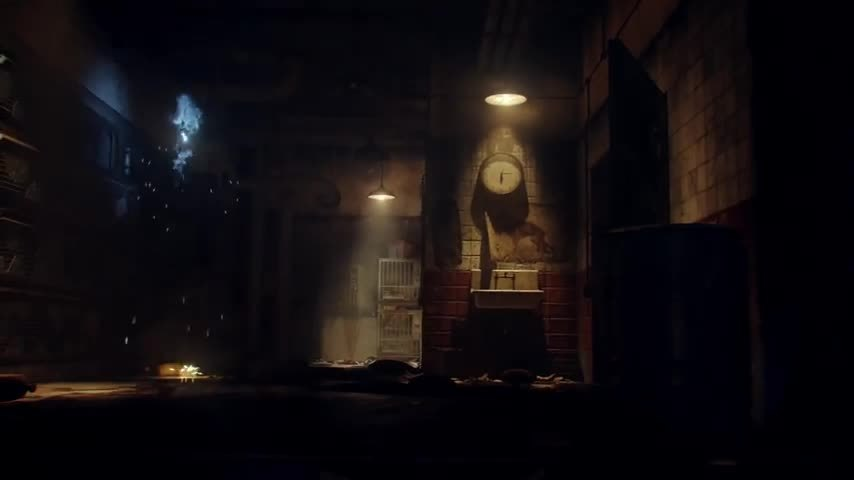 codzombies, and why do they show the bulged out part of the wall over the catwalk in the intro? (reddit) GIFs