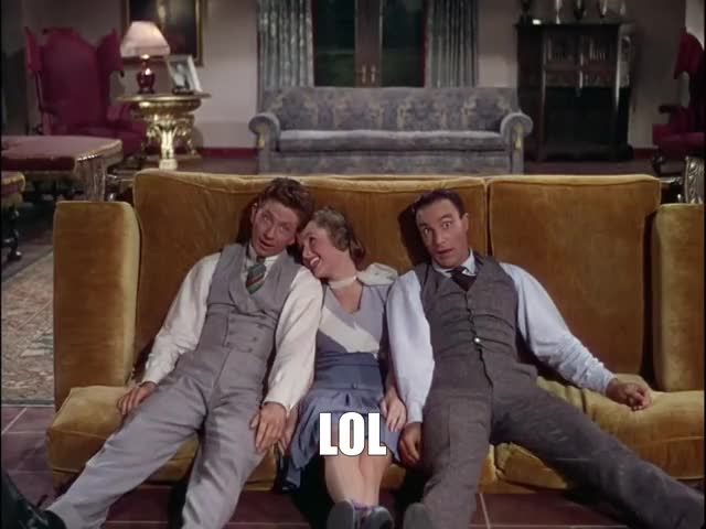 Watch and share Donald O'connor GIFs and Gene Kelly GIFs by Richard Rabbat on Gfycat