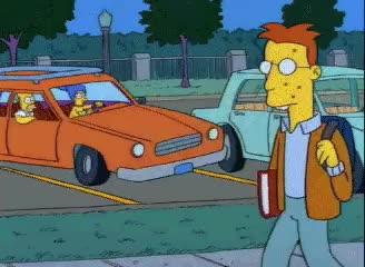Watch and share Homer Yells Nerd GIFs on Gfycat