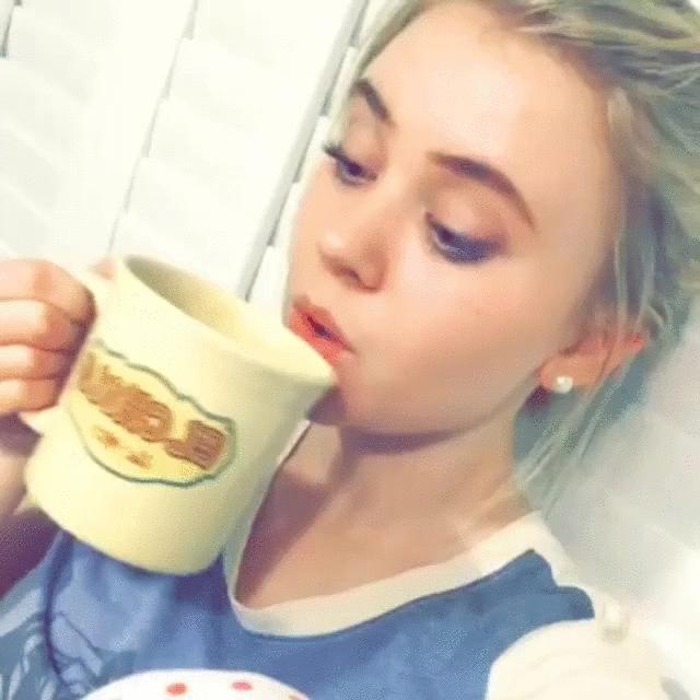 SierraMcCormick, sierramccormick, Cold tea [gif] (reddit) GIFs