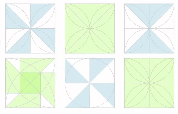 Watch and share Geometry GIFs and Maths GIFs by Folding Circles on Gfycat