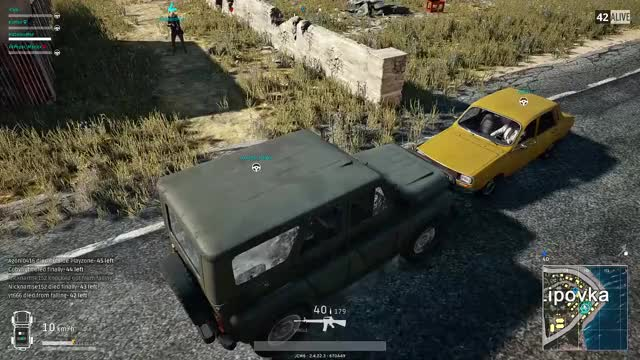 Watch car physics GIF by @jcw--6 on Gfycat. Discover more funny, gaming, pubg GIFs on Gfycat