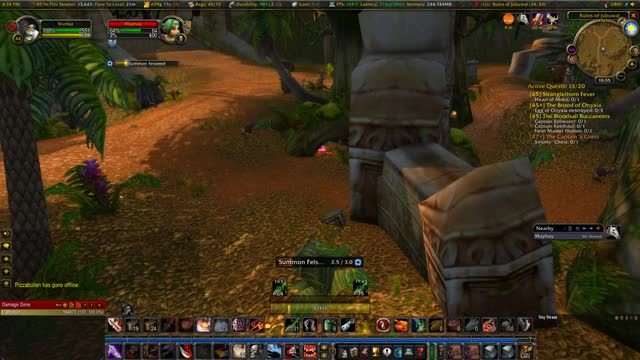 Watch and share World Of Warcraft - Classic 2020.01.25 - 16.36.21.04.DVR GIFs by Axel on Gfycat
