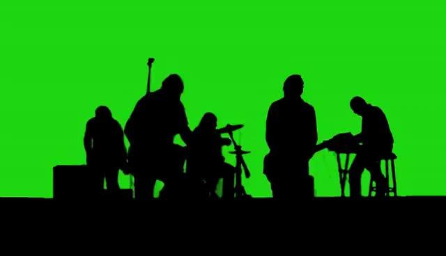 Watch and share Rock Band -Green Screen - Chroma Key GIFs on Gfycat