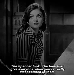 Watch Pretty Little Liars Gifs GIF on Gfycat. Discover more Aria Montgomery, Pretty Little Liars, Spencer Hastings, just now noticing the missing word and can't change it kill me, pllgif, season four GIFs on Gfycat