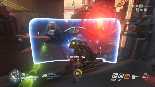 Watch and share Overwatch GIFs and Reinhardt GIFs by nijin on Gfycat