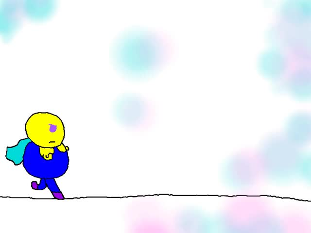 Watch and share Color Me Geeky: Roundman Walk Cycle GIFs on Gfycat