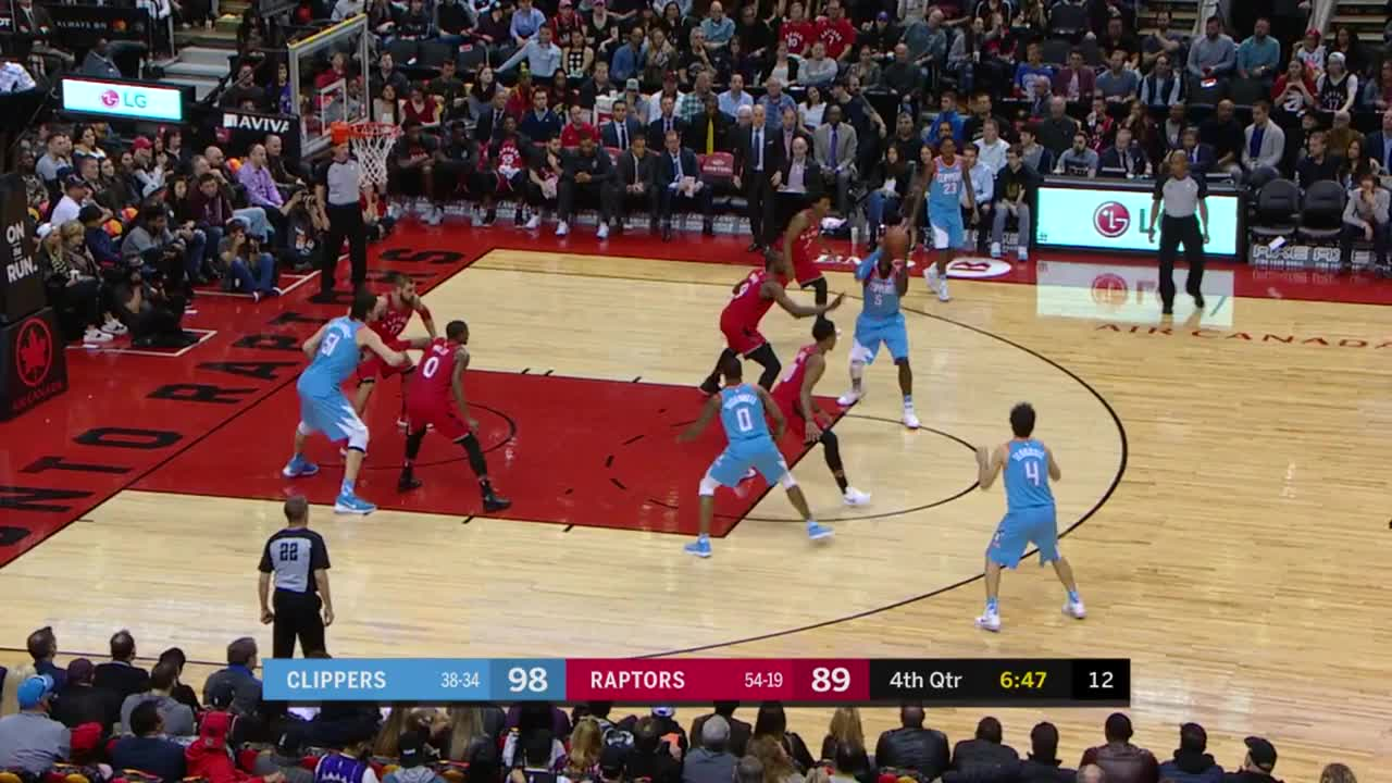 Los Angeles Clippers, Toronto Raptors, basketball, defense, dwane casey, pump fake, contest pump GIFs