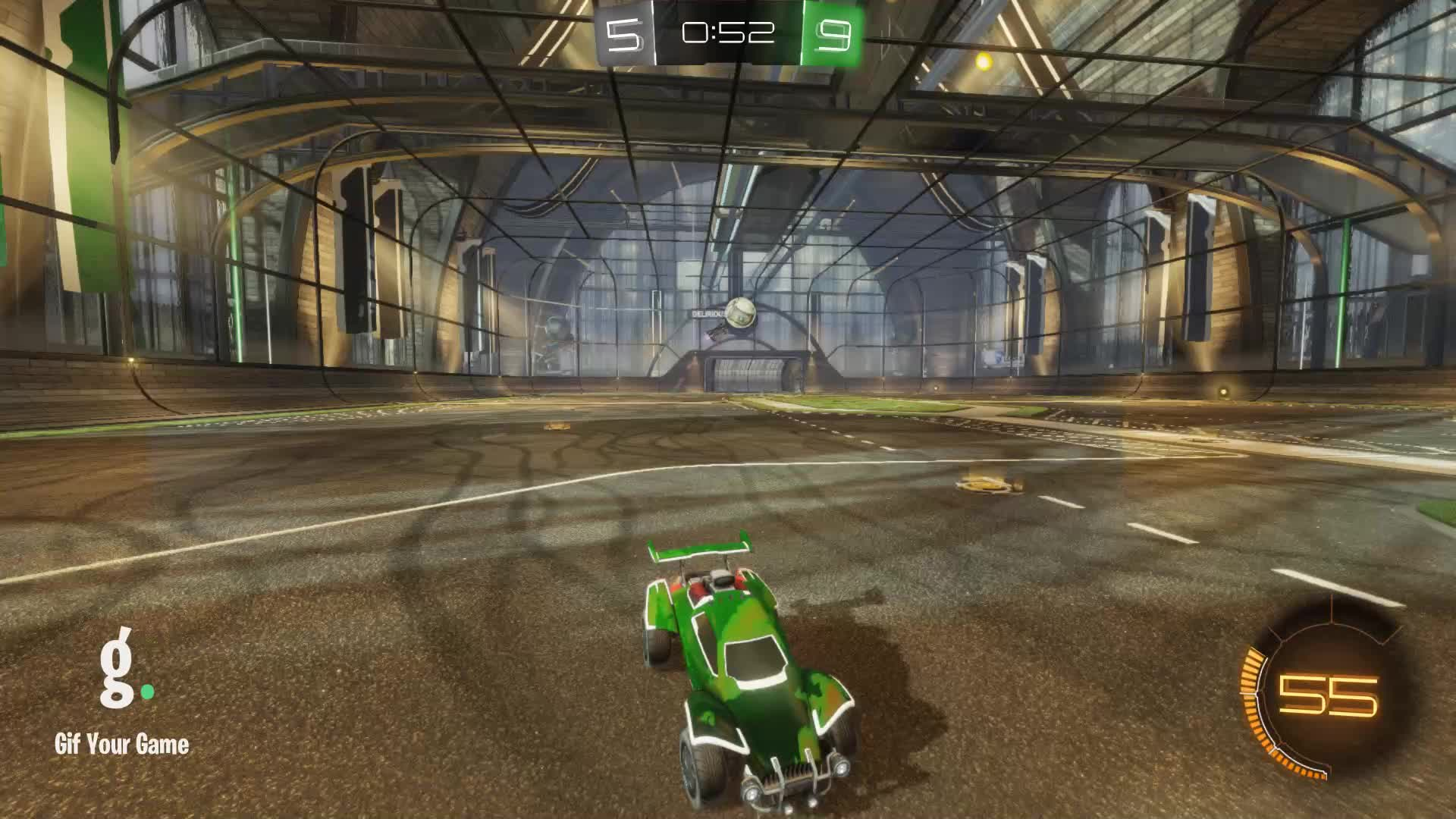 Gif Your Game, GifYourGame, Linux Cow | Ceiling shots only?, Rocket League, RocketLeague, Save, Save 2: Linux Cow | Ceiling shots only? GIFs