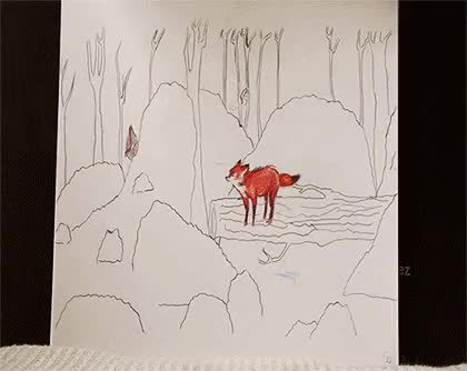Watch Debbie SketchBlog GIF on Gfycat. Discover more animation, art, cute, drawing, flipbook, fox, foxes, illustration, my art, red, silly, silly fox GIFs on Gfycat