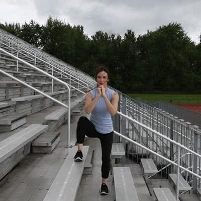 Watch and share 400x400 Stair Workout Side Squat GIFs on Gfycat