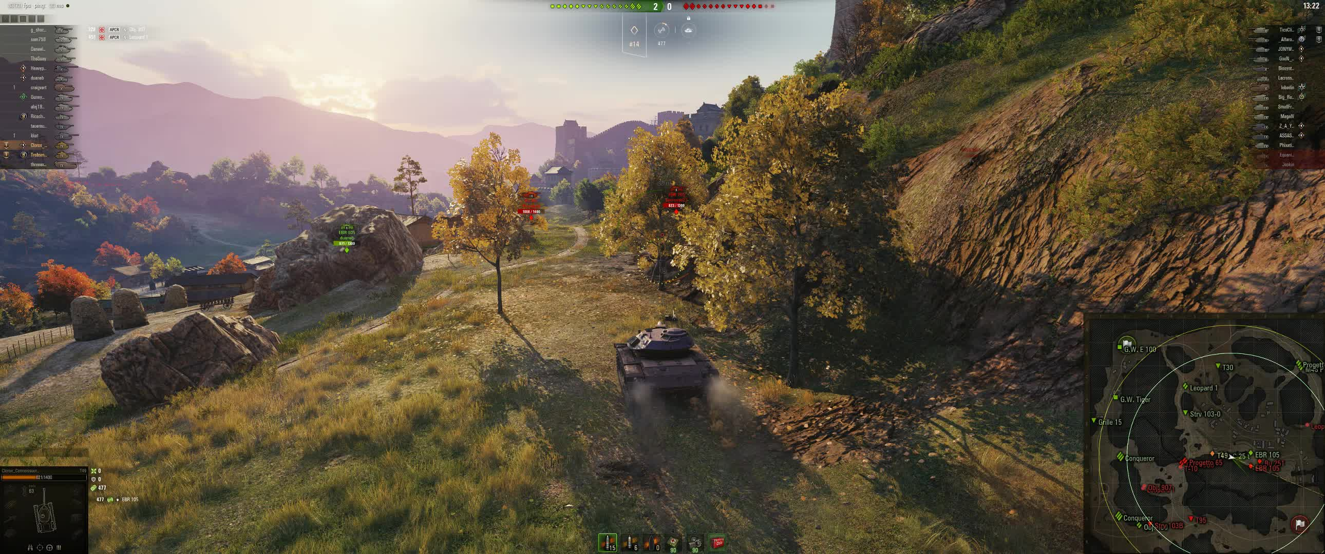 t49, warthunder, world of tanks, Nice round numbers GIFs