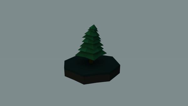 Isometric Tree Animation GIFs