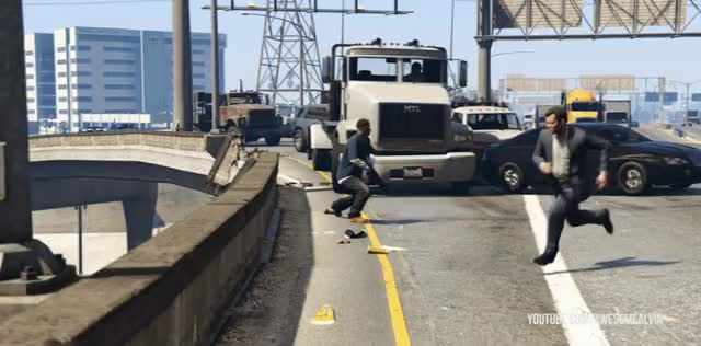 Watch When NPC's panic GIF by AwesomeAlvin (@awesomealvin) on Gfycat. Discover more gta5, gtagifs, gtav GIFs on Gfycat