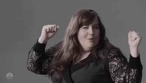 Watch and share Aidy Bryant GIFs and Celebration GIFs on Gfycat