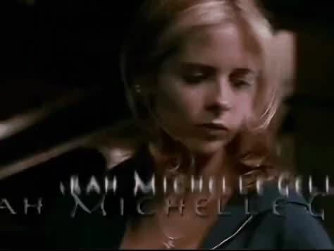 Watch Buffy The Vampire Slayer GIF on Gfycat. Discover more buffyisback #btvs #sarahmichellegellar #chosen #slayallday, celebs, sarah michelle gellar GIFs on Gfycat
