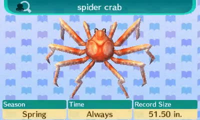 Watch and share Animal Crossing GIFs and Spider Crab GIFs on Gfycat