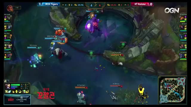 KT Rolster vs Rox Tigers | Game 2 S6 LCK Spring Round 1 Week 2 Day 2 | KT vs ROX G2 W2D2