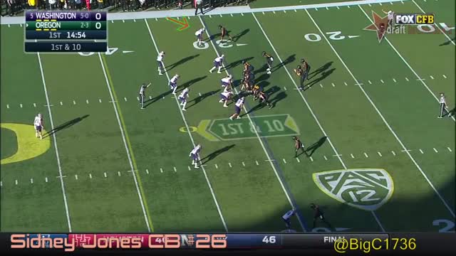 Watch and share College Football GIFs and Sidney Jones GIFs by sio-kedelic on Gfycat