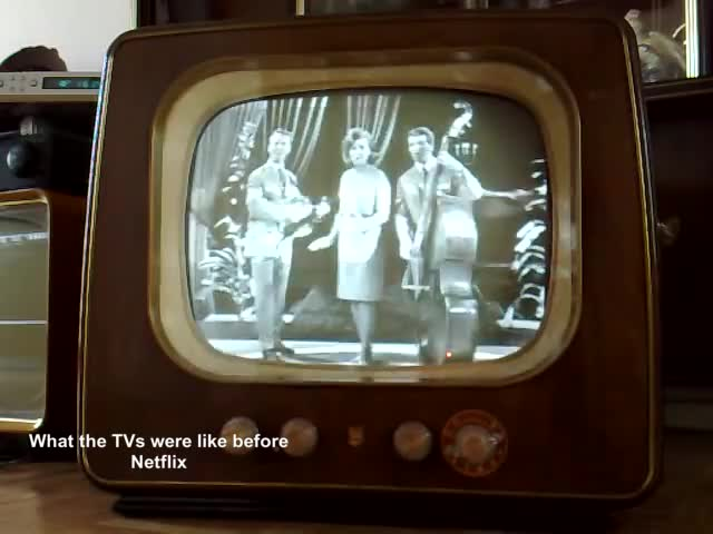 Watch Old Television from 1954/55 GIF on Gfycat. Discover more 1955, 1965, brokken, corry, dutch, fernsehen, hollands, televisie, televisor, vintage GIFs on Gfycat
