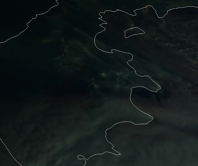 Watch and share Sheveluch Eruption 22:40 - 23:40 UTC, January 8, 2018 (Himawari-8, EUMETSAT NC) GIFs by The Watchers on Gfycat