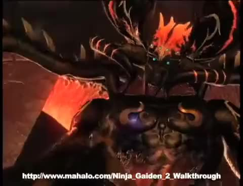 Ninja Gaiden 2 Chapter 14 Final Boss Gif Gfycat
