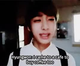 Watch and share My Fave Seriously GIFs and Chae Hyungwon GIFs on Gfycat