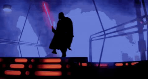 celebrate, dance, dancing, darth vader, excited, happy, light saber, star wars, Darth Vader Dancing GIFs
