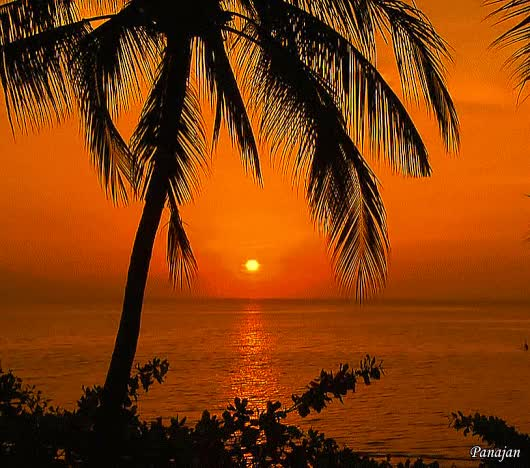 Watch and share Amazing Sunset View From Bali GIFs on Gfycat