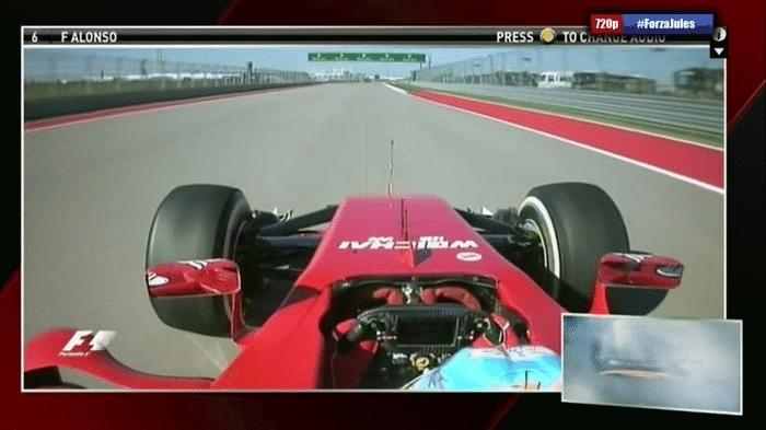 formula1, formula1gifs, Alonso FP3, COTA. GIFs