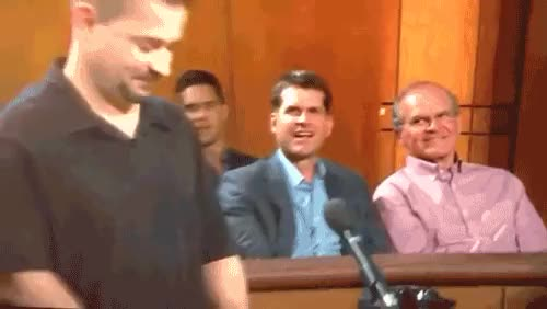 Watch and share Jim Harbaugh And His Dad Went To See Judge Judy. | The 89 Funniest Sports GIFs Of 2013 GIFs on Gfycat