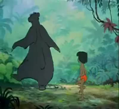 Watch and share Disney Baloo GIFs on Gfycat