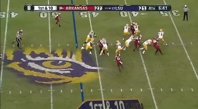 Watch and share Jarvis Landry GIFs and Arkansas GIFs on Gfycat