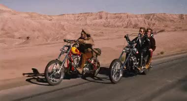 Watch this trending GIF on Gfycat. Discover more 1960s, 1970s, 60s, 70s, angels forever, dennis hopper, easy rider, film, harley davidson, jack nicholson, los angeles, mine, motorbike, motorcross, motorcycle, movie, peter fonda GIFs on Gfycat