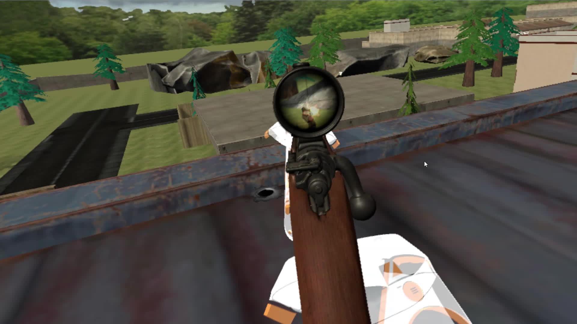 gaming, virtual reality, vr, VR Sniping GIFs
