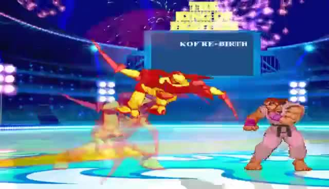 Watch and share Mugen - Dragon Claw Super Moves Showcase GIFs on Gfycat