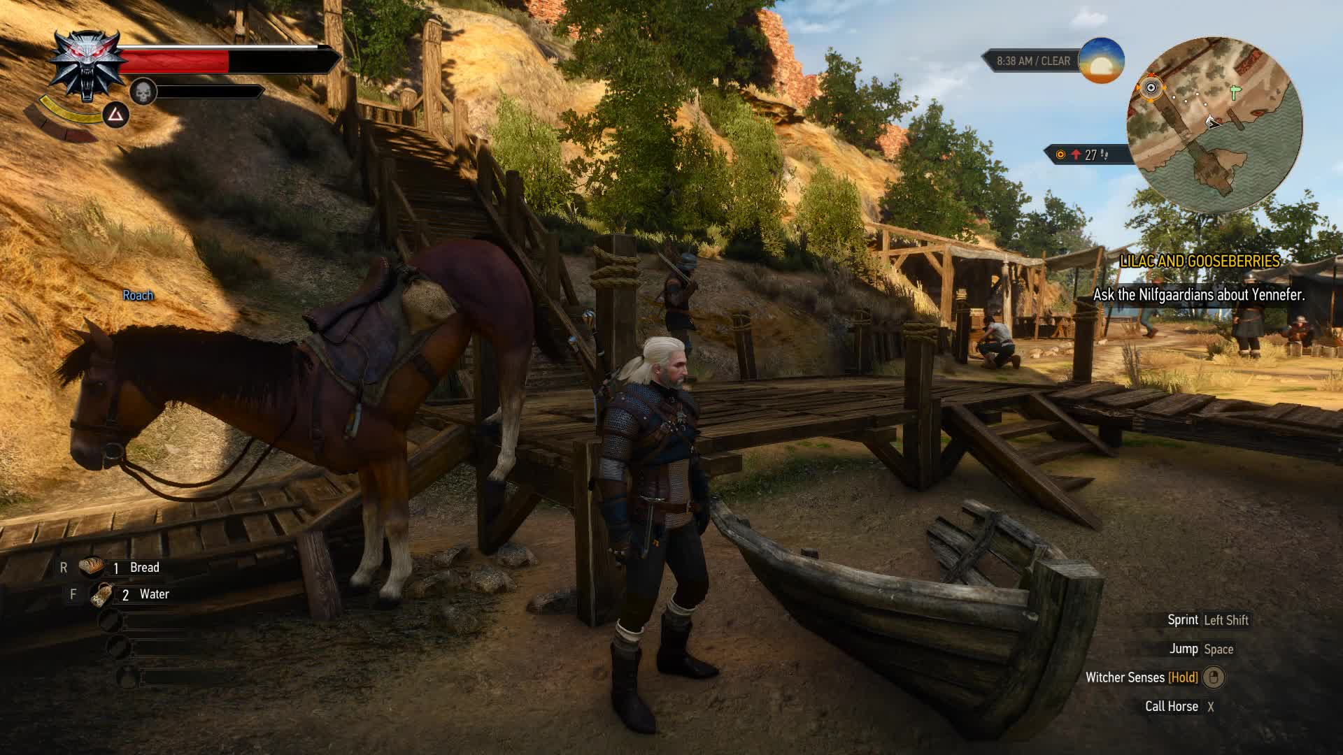 geralt, roach, witcher, I think I broke my horse GIFs