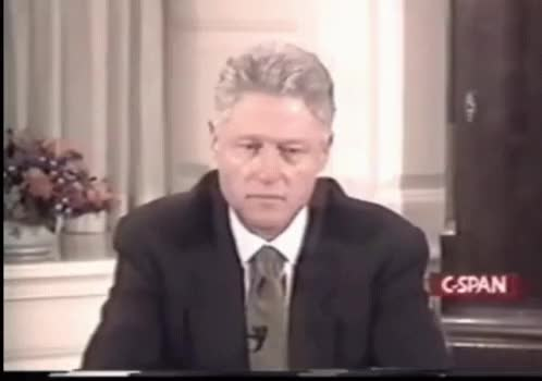 Watch and share Bill Clinton GIFs on Gfycat