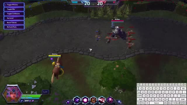Watch and share Li-Ming Combo Arthas GIFs on Gfycat