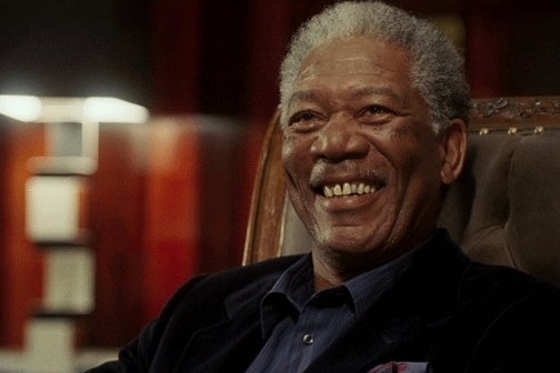 Morgan Freeman, bang, fingerguns, gotcha, finger guns GIFs