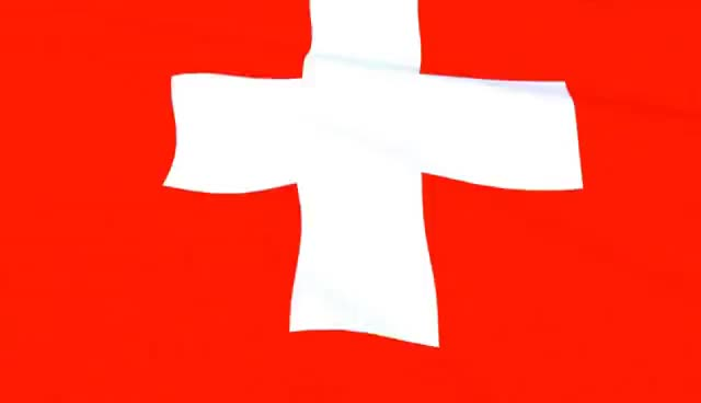 Watch and share Swiss Flag Waving - Flagge Der Schweiz - Switzerland GIFs on Gfycat