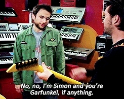 Charlie kelly dating picture