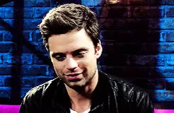 Watch and share Sebastian Stan GIFs and What A Cutie GIFs on Gfycat
