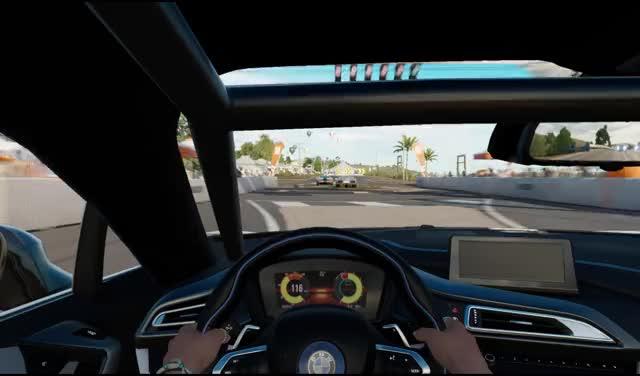 Watch and share 동쪽 다리 스크램블 BMW I8 GIFs on Gfycat