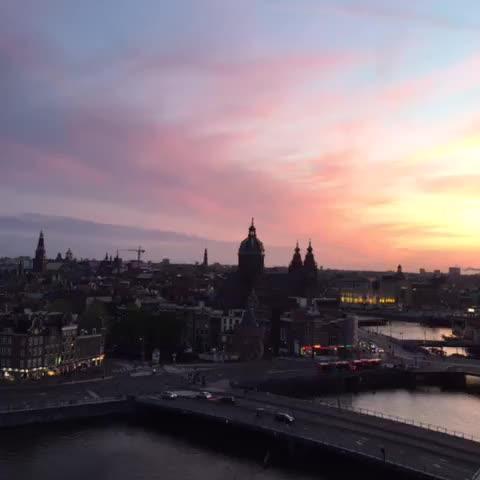 Watch and share Amsterdam Sunset GIFs by 121gigawatt on Gfycat