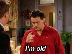 Watch and share Feeling Old GIFs by Reactions on Gfycat
