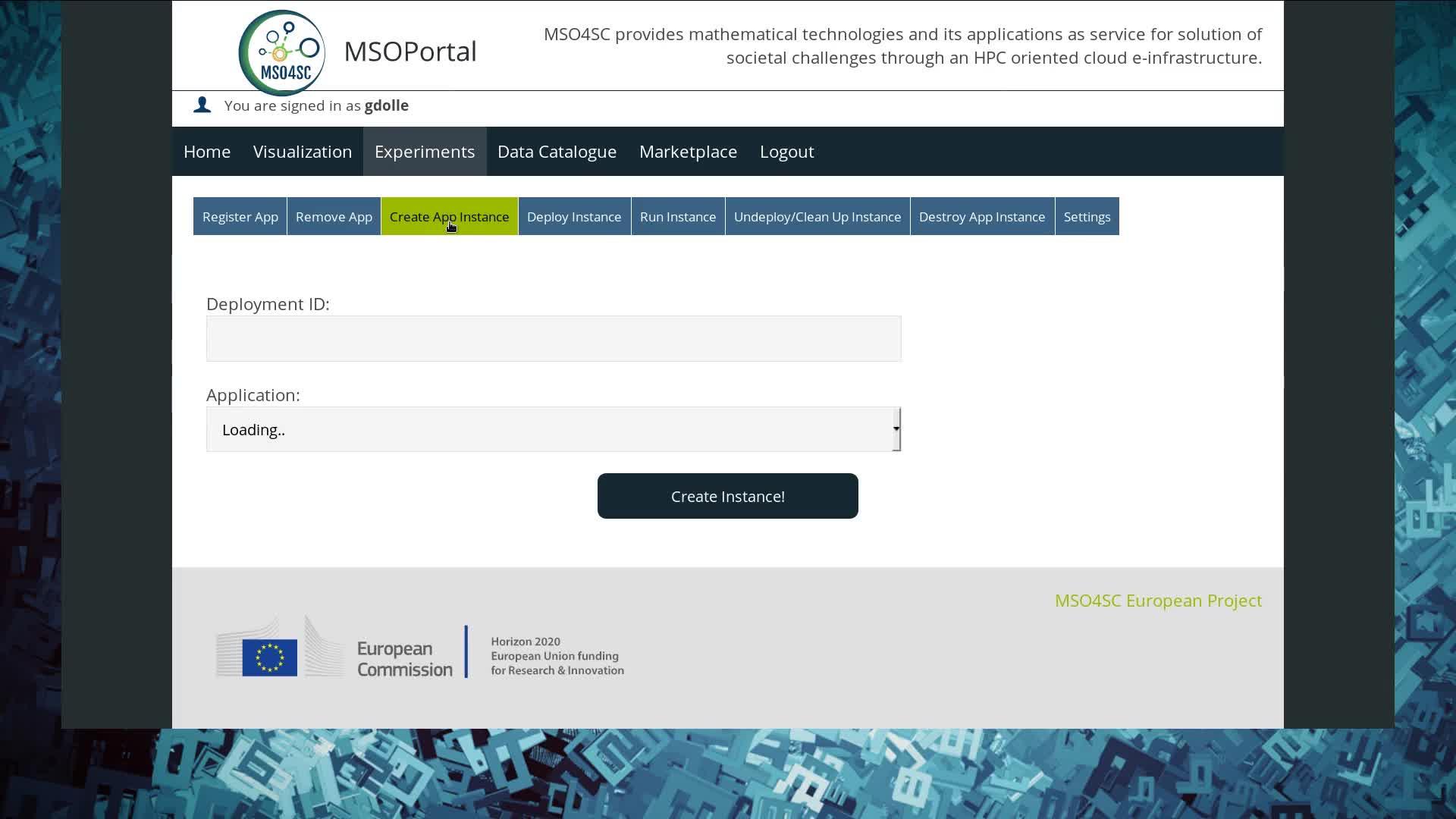 Feel Toolboxes MSO Portal Demo Torsionbar Example
