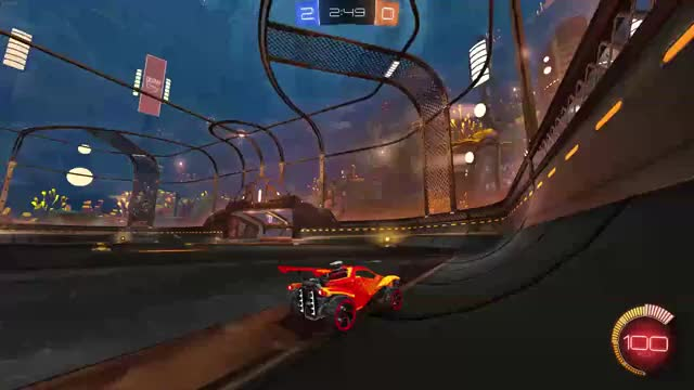 Watch and share Rocket League Rebound Goal GIFs by battlegravy on Gfycat