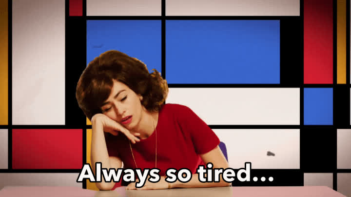 exhausted, over it, sleep, snl, tired, welcome to hell, Welcome to Hell - SNL GIFs