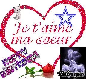 Watch and share Joyeux Anniversaire Ma Petite Soeur Adorée GIFs on Gfycat